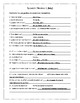 Spanish I Pre-assessment and Review Handouts