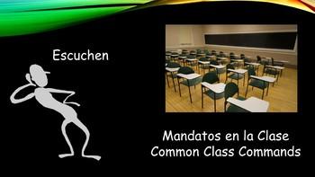 Spanish 1 Unit- Classroom Commands