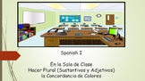 Spanish I Unit- Classroom Objects