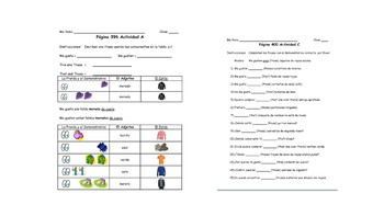 Spanish I Unit- Clothing Styles and Demonstrative Adjectives