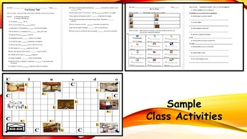 Spanish I Unit- House and Home and Possessives