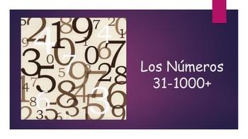 Spanish I Unit- Numbers 31-1000+