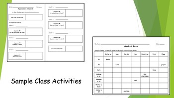 Spanish I Unit- Party & Present Conjugation Review & Stem-Changing Verbs