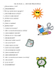 Spanish I Vocabulary Questions Game (Asi Se Dice Chapters