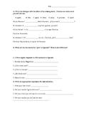 Spanish I basic conversation practice quiz: Avancemos