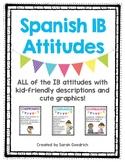 Spanish IB Attitude Posters