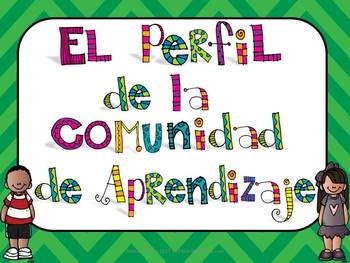 Spanish IB PYP Learner Profile Posters Editable