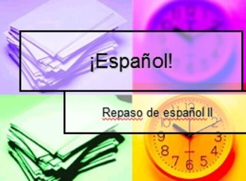 Spanish III-Beginning of Year Power Point Review