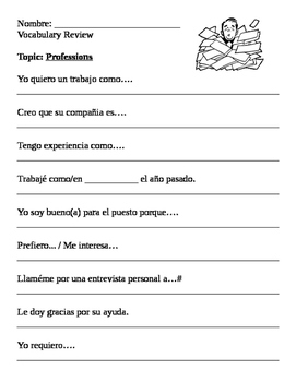 Spanish III: Interview & Report Project