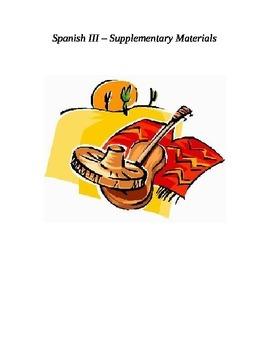 Spanish III - Supplementary Notes
