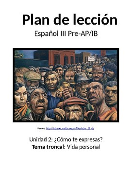 Spanish III lesson plans and materials - Auténtico Capítulo 2