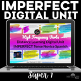 Spanish IMPERFECT High Frequency Verbs Google Slides Dista