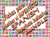 Spanish IMPERFECT Practice WORKSHEET BUNDLE / Imperfect In