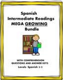 Spanish INTERMEDIATE Reading MEGA Bundle: 57+ Readings @50% off! (GROWING)