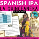 Spanish IPA Families and Communities - Parties and Quinceanera