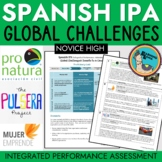 Spanish IPA Global Challenges Unit Donate to a Cause