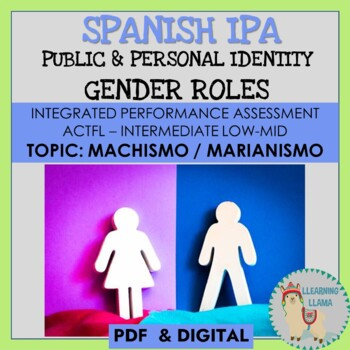 Spanish IPA Public and Personal Identities ACTFL Standards
