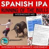 Spanish IPA Running of the Bulls - Contemporary Life Inter