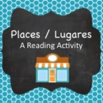 Spanish Vocabulary:  Places Reading Activity