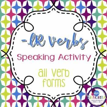 Spanish -IR Verbs Speaking Activity