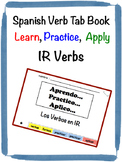 Spanish IR Verbs Tab Book