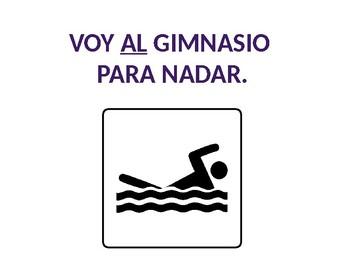 Spanish IR + al / a la PLACE Introduction