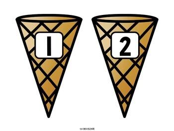 Spanish Ice Cream Syllable Sorting