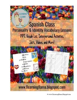 Spanish Identity Vocabulary Mini Unit