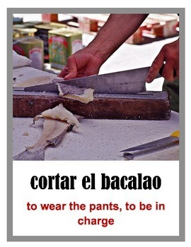 Spanish Idiom of the Week