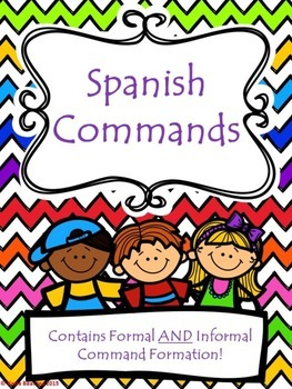Spanish Imperative: Formal and Informal Commands