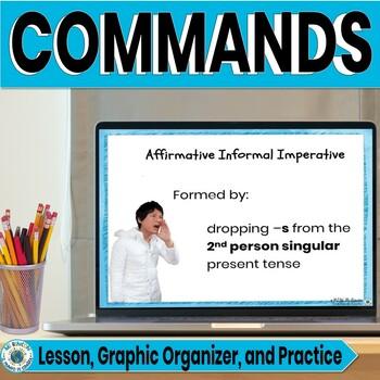Spanish Imperative Informal affirmative commands