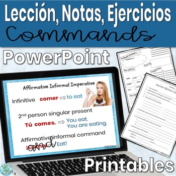 Imperative Informal/affirmative commands Lesson/Practice (Spanish): animated
