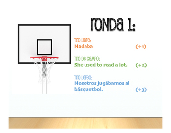 Spanish Imperfect Basketball