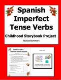 Spanish Imperfect Childhood Storybook PowerPoint Project and Grade Sheet