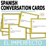El Imperfecto Imperfect Conversation Cards