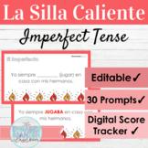 EDITABLE Spanish Imperfect Tense Hot Seat Game   La Silla