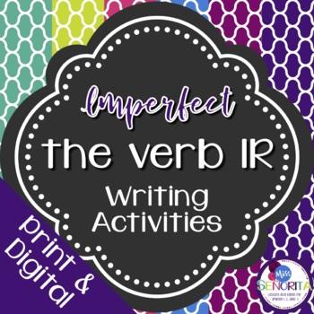 Spanish Imperfect Ir Writing Exercises