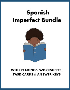 Spanish Imperfect Mini Bundle: 1 Reading and 2 Worksheets
