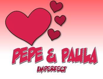 Spanish Imperfect Pepe and Paula Reading