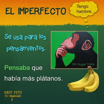 Spanish Preterite Imperfect PowerPoint and Interactive Not