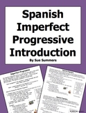 Spanish Imperfect Progressive Introduction and Explanation
