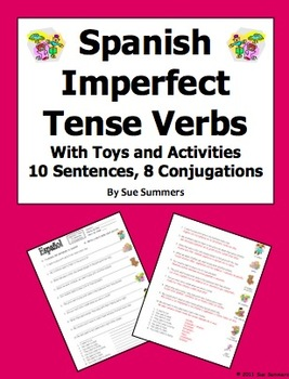 Spanish Imperfect Sentences & Conjugations - Toys & Activities
