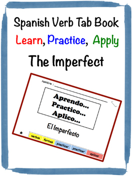 Spanish Imperfect Tab Book