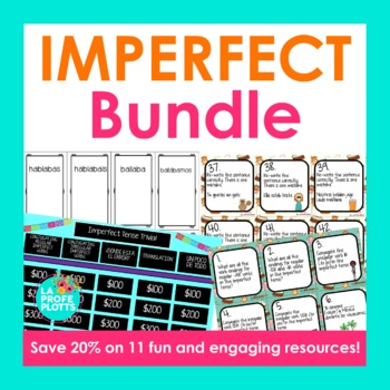 Spanish Imperfect Tense Bundle