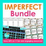 Spanish Imperfect Tense Bundle (Games and Activities)