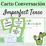 Spanish Imperfect Tense Cacto Conversación Speaking Activity