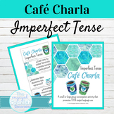 Spanish Imperfect Tense Café Charla Speaking Activity