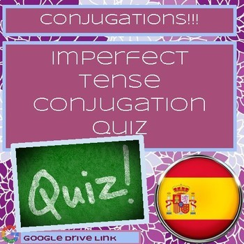 Spanish Imperfect Tense Conjugation Quiz