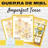 Spanish Imperfect Tense Games GUERRA DE MIEL | Writing Activity