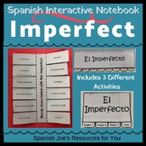 Spanish Imperfect Tense Interactive Notebook & Flip Book Bundle
